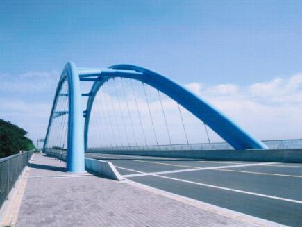大连金石滩大桥钢梁